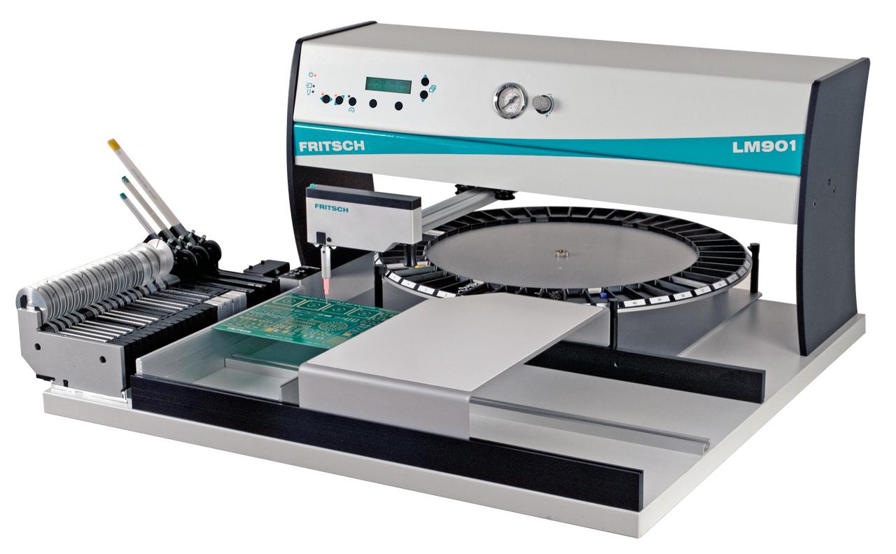 Fritsch - puoliautomaattiset- sekä manuaaliset SMD-ladontalaitteet