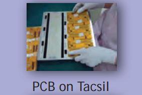 Tacsil ® - kiinnitysteippi Flex-korteille