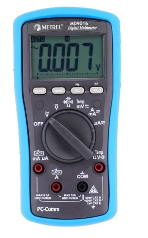 Digitaalinen yleismittari Metrel MD9016