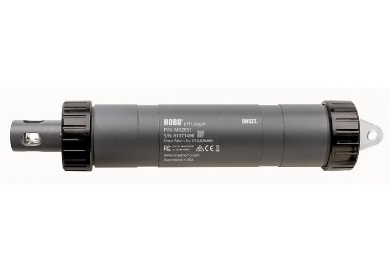 pH ja lämpötilaloggeri MX2501