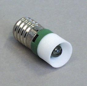 E-10 -kantainen LED-lamppu