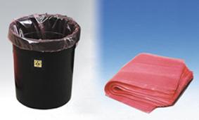 ESD-roskakori ja antistaattiset roskapussit 17 litraa