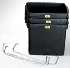 ESD-jäteastia ja kannet 25 litraa