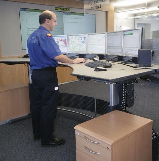 Elicon Control Station -pöydät (sähkösäätöinen)