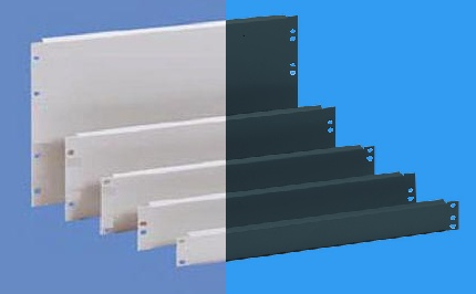 19'' peitepaneeli teräslevy 1,5 mm