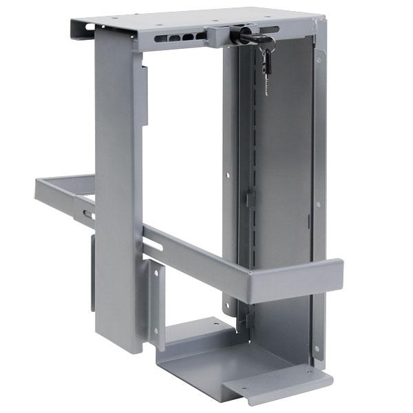 PC-teline pöydän alle, lukittava