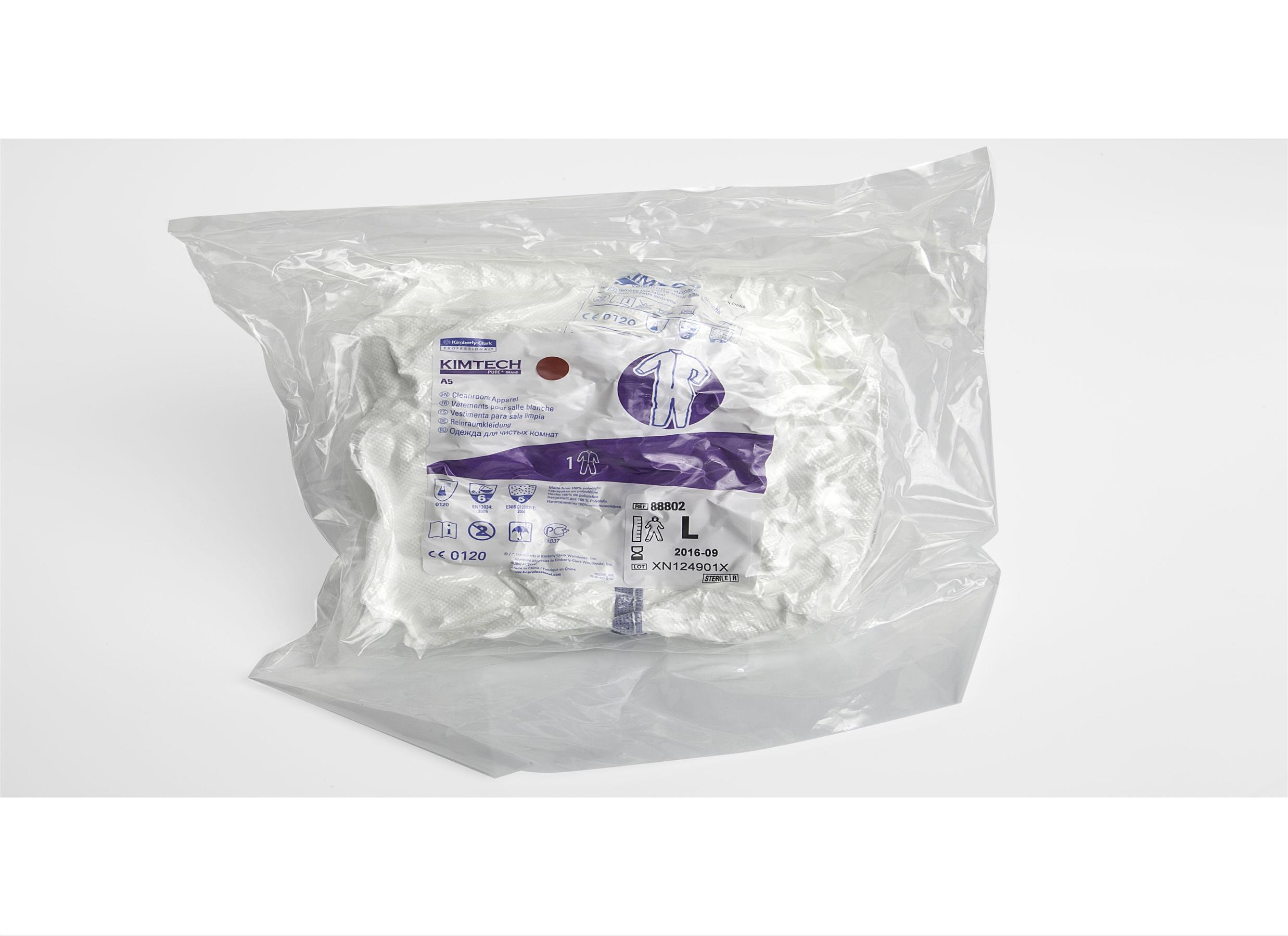 Kimtech A5 steriili kertakäyttöhaalari