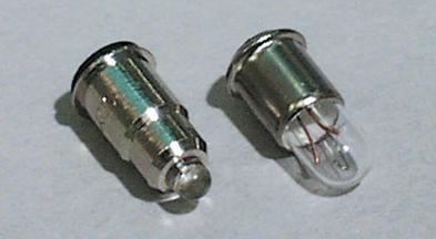T-1 3/4 MF6s/8 -kantainen merkkilamppu