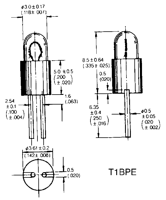 T-1BP/BPC/BPE -lamput