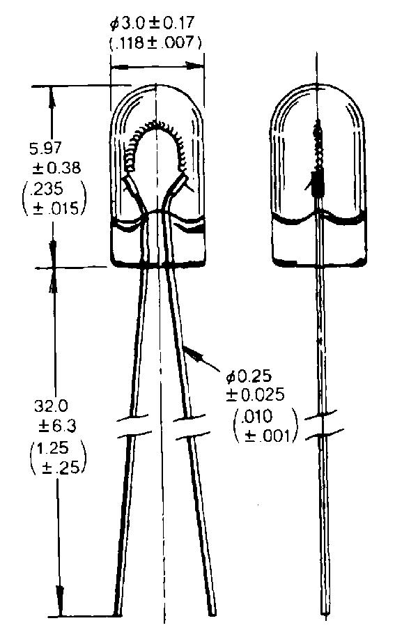 T-1 WT-lamppu, normaalit mallit