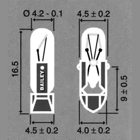 T-4.5 -puhelinlamppu, hehkulamput