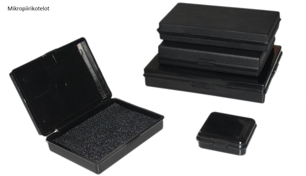 Mikropiirikotelot ja kannelliset laatikot