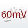 60mV sivuvirtavastukset