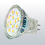 MR11-kantaiset LED-lamput
