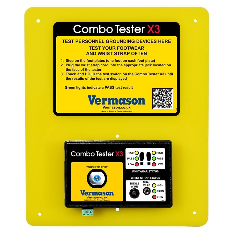 Ranneke- ja jalkinetesteri Combo Tester X3