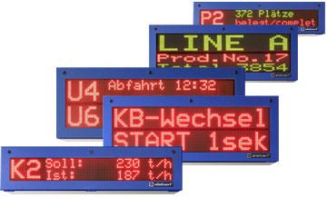 Siebert SX502-sarjan koteloidut teollisuusnäytöt, Profibus