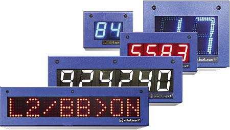 Siebert S302 ja SX302 -sarjan koteloidut teollisuusnäytöt, Serial RS485/RS232