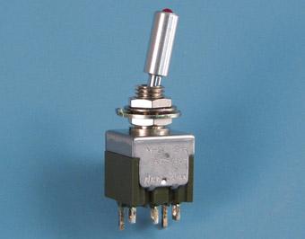 Vipukytkimet Nikkai M-sarja LED-vipukytkimet etulevyasennukseen