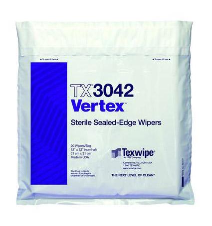 Vertex, steriili puhdastilapyyhe