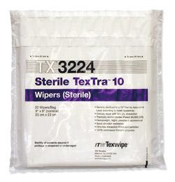 Sterile TexTra/TexTra10, steriili puhdastilapyyhe