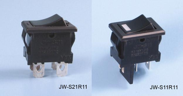 JW-sarjan keinukytkin paneeliasennukseen