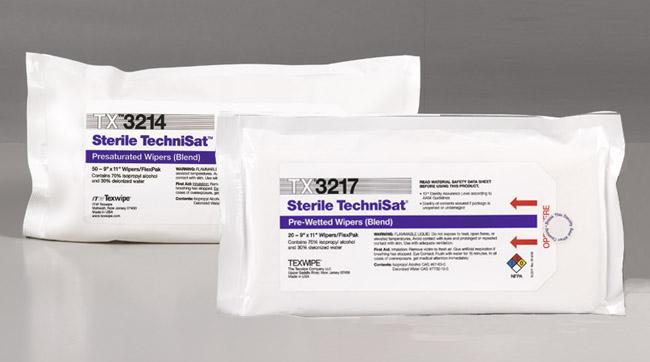 Sterile TechniSat, steriili puhdastilapyyhe