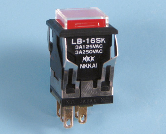 Nikkai LB-sarjan valopainike, neliö