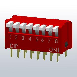 DP-sarjan DIP-kytkimet, Diptronics
