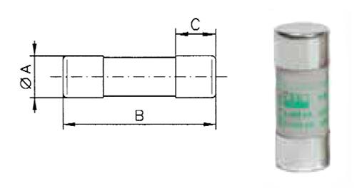 Moottorisuoja, 14 mm * 51 mm sulake