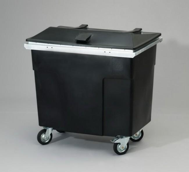 ESD-jäteastia kannella 600 litraa