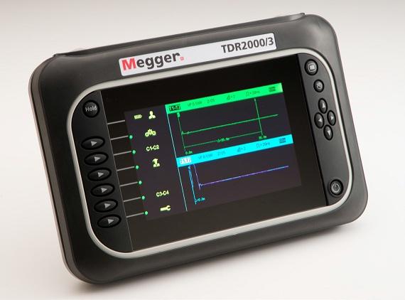 Kaapelitutka Megger TDR-2000/3P