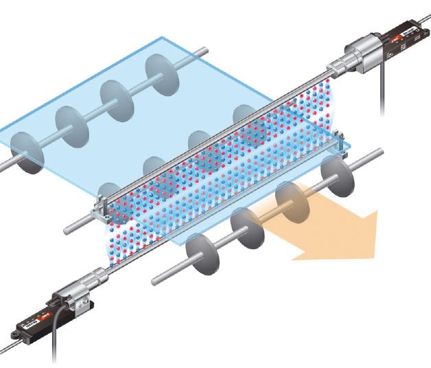 ER-VS -ionisaattorin optiot