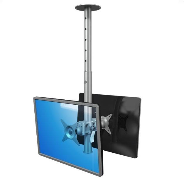 Kattoteline 2 näytölle (max. 2x15 kg)