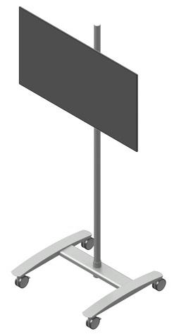 ViewMate vaunu monitoritelineellä VESA 75x75-400x200