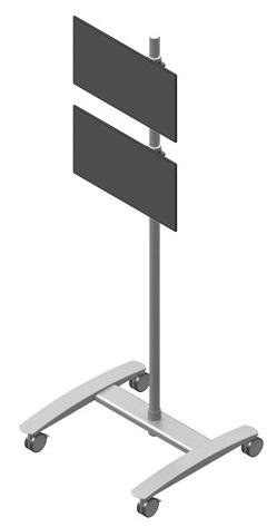 ViewMate vaunu 2 monitoritelineellä