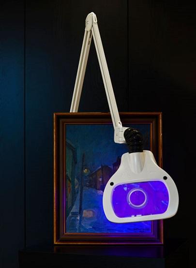LED ESD-suurennuslasivalaisimet