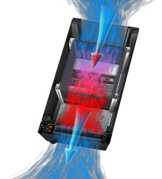 DCD CoolDoor palvelinkaapin jäähdytysovi 35 kW