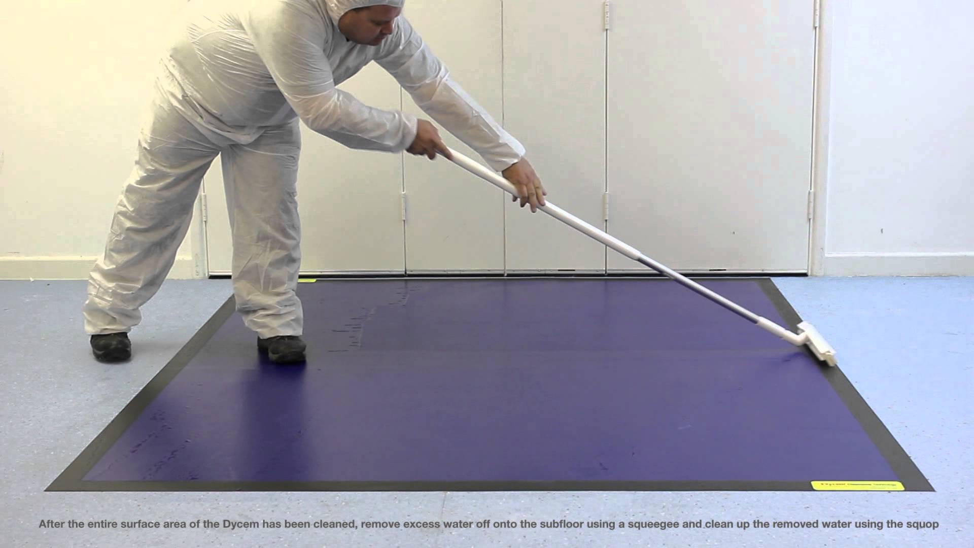Dycem mattojen puhdistus