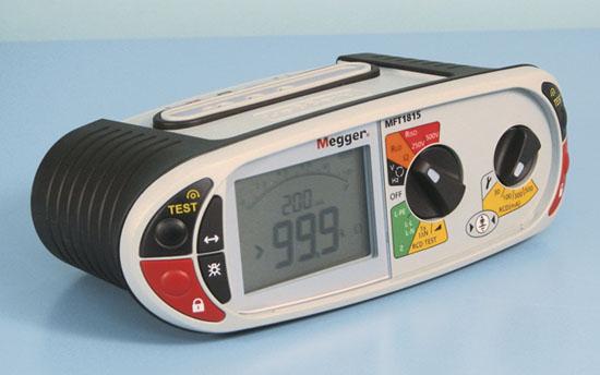 Asennustesteri Megger MFT1815