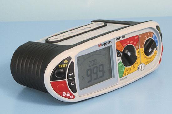 Asennustesteri Megger MFT1835