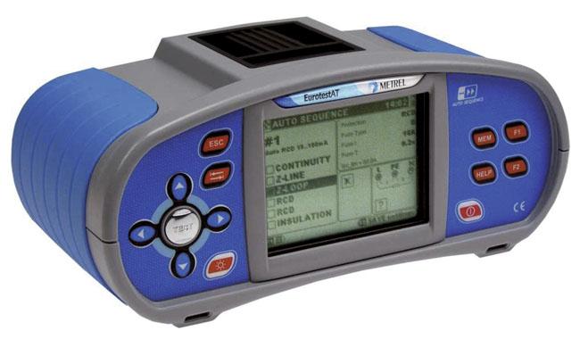 Asennustesteri Metrel MI-3101