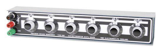 Vastusdekadi Time Electronics 1067