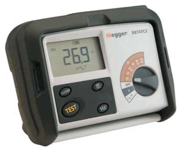 Maavastusmittari Megger DET4 TCR2-CLAMPS