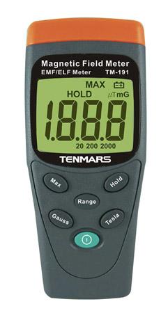 Magneettikentän mittari Tenmars TM-191