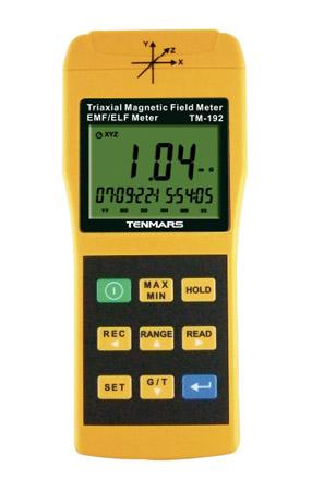 Magneettikentän mittalaite Tenmars TM-192/D
