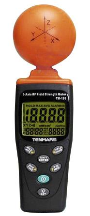 RF-kentän mittari Tenmars TM-195RF