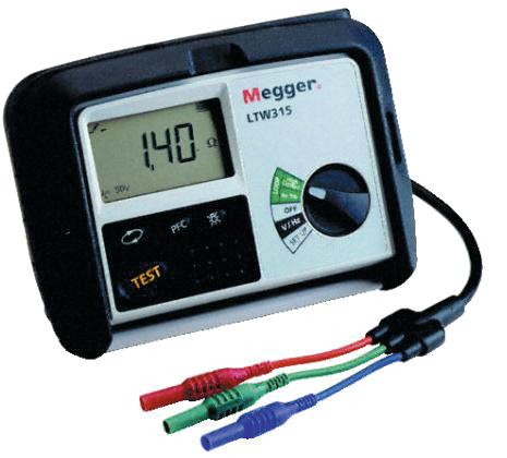 Oikosulkuvirtatesteri Megger LTW315