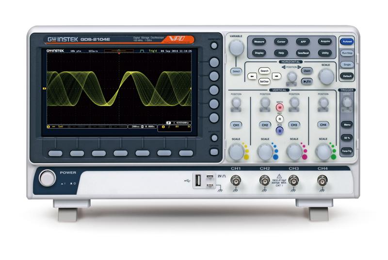 Oskilloskooppi, GW Instek GDS-2000E-sarja
