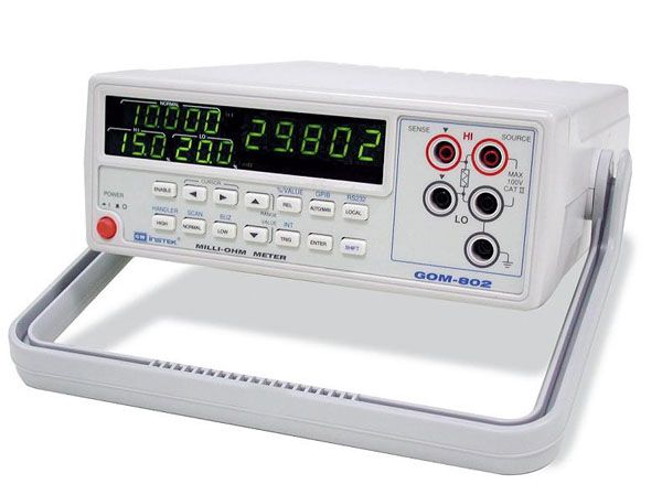 Milliohmimittari GW Instek GOM-802