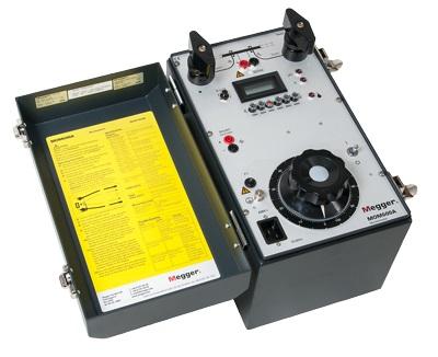 Mikro-ohmimittari Megger MOM600A